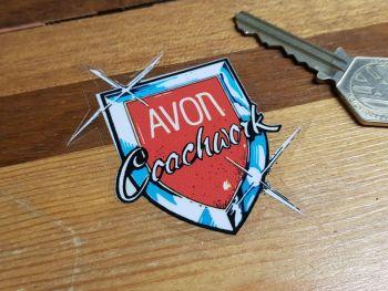 """Avon Coachwork Window Sticker 2.5"""""""