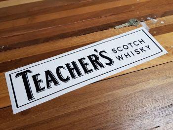 "Teacher's Scotch Whisky Sponsors Sticker 12"""