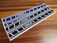 Yamaha Speed Block, Speed Ladder, Stripe Style Stickers - 350mm x 35mm Handed Pair