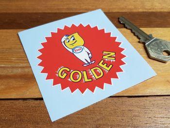 """Esso Golden Oil Drip Boy Sticker 3"""""""