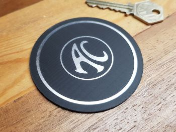 "AC Cars Circular Style Laser Cut Self Adhesive Car Badge 3"""