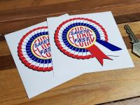 MG Safety Fast Rosette A Stickers. 4