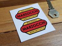 """Marzocchi Bologna Brevattato Stickers. 1.5"""" or 2.5"""" Pair."""