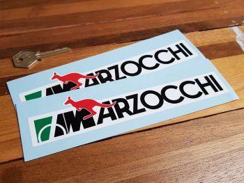 "Marzocchi Kangaroo Long Style Stickers 8"" Pair"