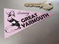 Great Yarmouth Travel Pennant Sticker 4