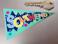 """Southend Travel Pennant Sticker 4"""""""