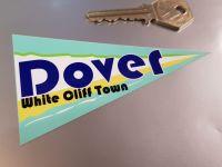 "Dover Travel Pennant Sticker 4"""