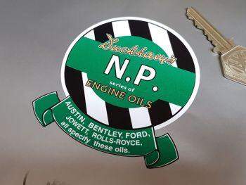 """Duckhams N.P. Engine Oils Sticker 3.5"""""""