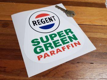 """Regent Super Green Paraffin Sticker 6"""""""