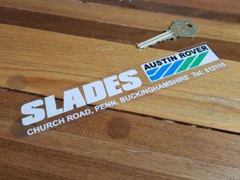 "Austin Rover Dealer Slades Penn Sticker 6.75"""