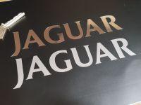 Jaguar Valve Cam Cover Cut Text Sticker 6.25