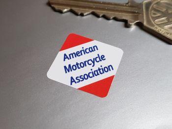 AMA American Motorcycle Association Diamond Helmet Sticker 30mm