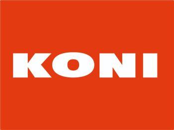 "Koni Shock Absorbers Text Cut Vinyl Stickers - 8.75"" Pair"