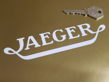 "Jaeger Cut Vinyl Stickers 6"" Pair"