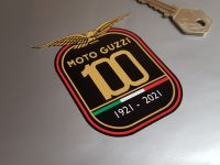 Moto Guzzi 100 Years Celebration Sticker - 3