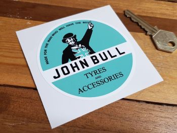 John Bull Tyres & Accessories Sticker 85mm