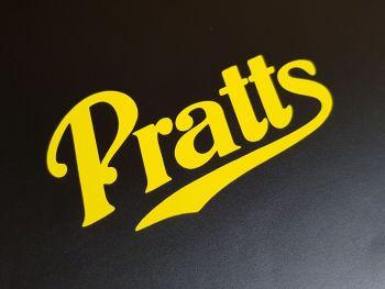"Pratt's Motor Spirit Plain Cut Vinyl Sticker - 4"", 6"", 8"", 12""or 12.5"""