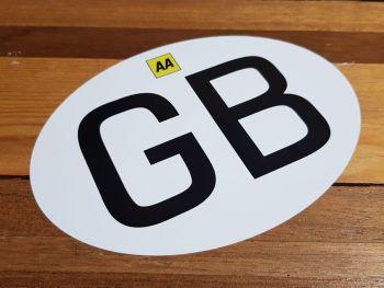 "GB Modern AA ID Plate Sticker - 5"" or 7"""