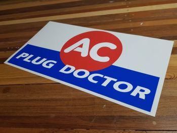 "AC Plug Doctor Sticker 22"""