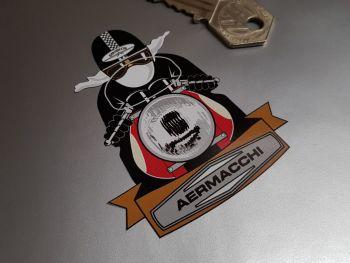 "Aermacchi Cafe Racer Sticker 3"""