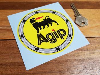"""Agip Fuel Filler Sticker 4"""""""