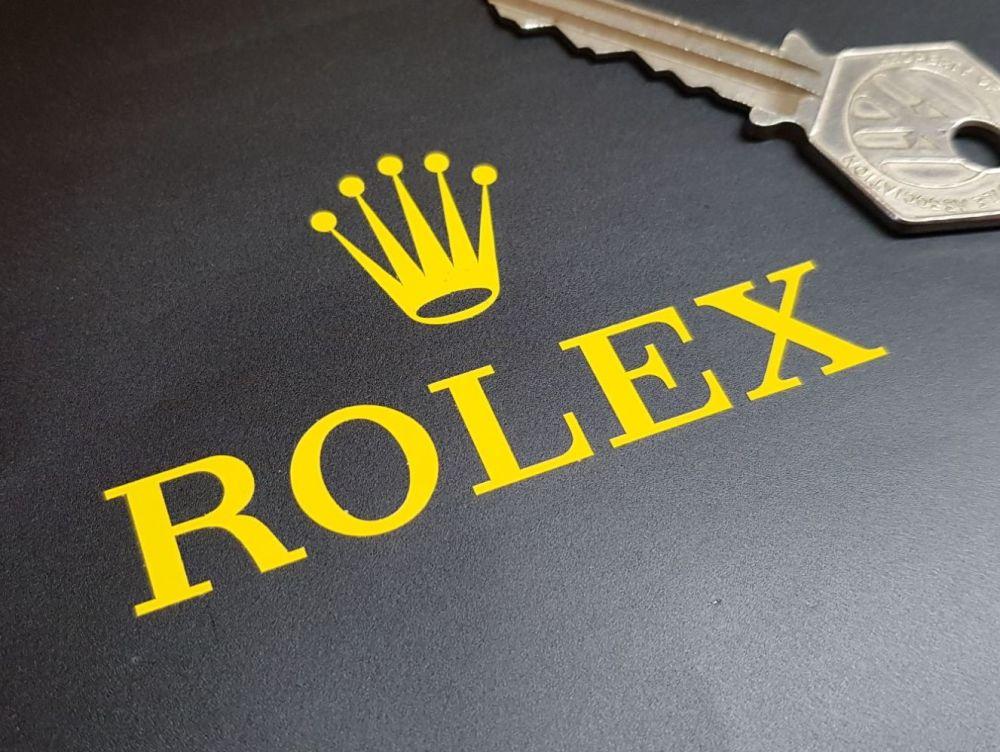 Rolex Sponsors Cut Vinyl Stickers - Style 1 - 2