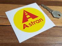 Astran Circular Sticker. 3