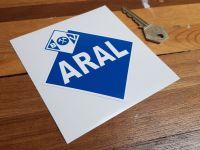 Aral German Fuel Sticker. 4