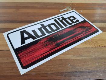 "Autolite Oblong Sticker. 12""."