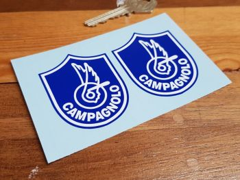 Campagnolo Shield Style Stickers 60mm Pair