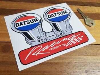 "Datsun Racing Parts Shaped Sticker 6"""