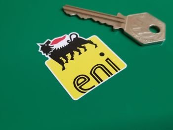 Eni Shaped Logo Sticker 1.5""