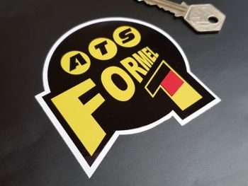 ATS Formel 1 Racing Team Sticker 3.5""