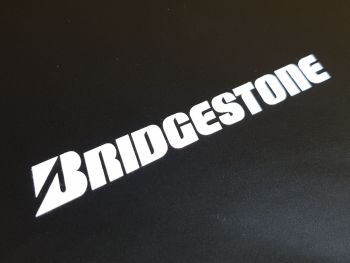 Bridgestone Cut Vinyl Text Sticker 13.5""