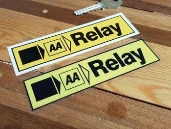 "AA Relay Static Cling Window Sticker 5.25"""