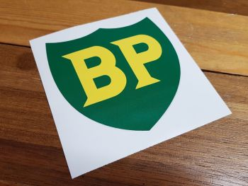 """BP '58 - '89 Shield with No Yellow Border Large Sticker - 10"""" or 12"""""""