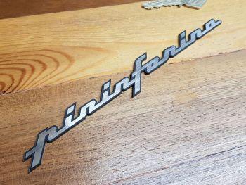 """Pininfarina  Script Style Self Adhesive Car Badge 8"""""""