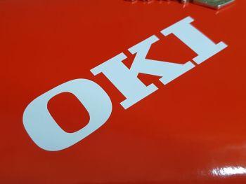 "OKI Cut Vinyl Stickers 14"" Pair"
