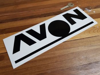 "Avon Tyres Spot Cut Vinyl Stickers 11"" Pair"