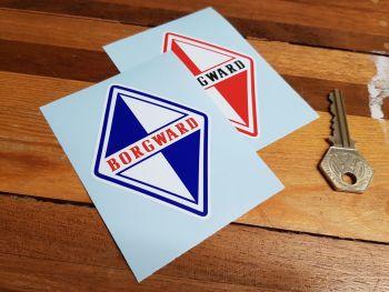 "Borgward Logo Sticker 3.5"""