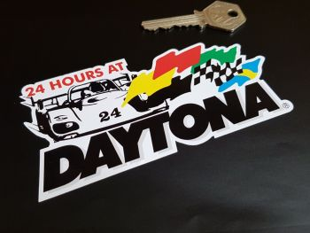 Daytona 24 Hours Sticker 5""