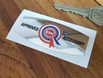 "BMC Approved Accessory Foil Sticker 2.75"""