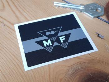 "Massey Ferguson Banded Logo Square Sticker 2.5"""