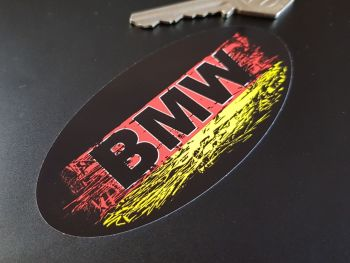 BMW Fade To Black Urban Style Sticker 4""