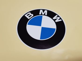"BMW Old Style Plain Roundel Sticker - 6"" or  7"""