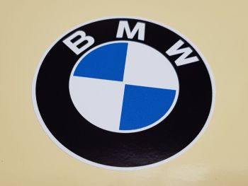 "BMW Old Style Plain Roundel Sticker. 9"" or 12""."