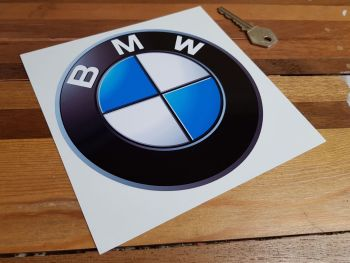 "BMW Shaded Roundel Sticker. 6"" or 8""."