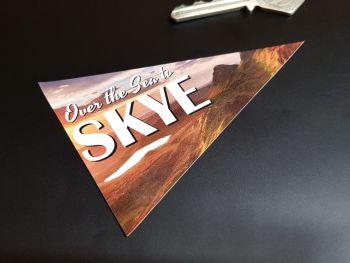 """Isle of Skyye Scottish Travel Pennant Sticker 4"""""""