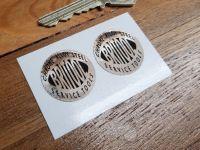 Britool Service Tools Black & Foil Circular Stickers. 1