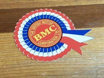 """BMC Rosette Static Cling Sticker 4"""""""